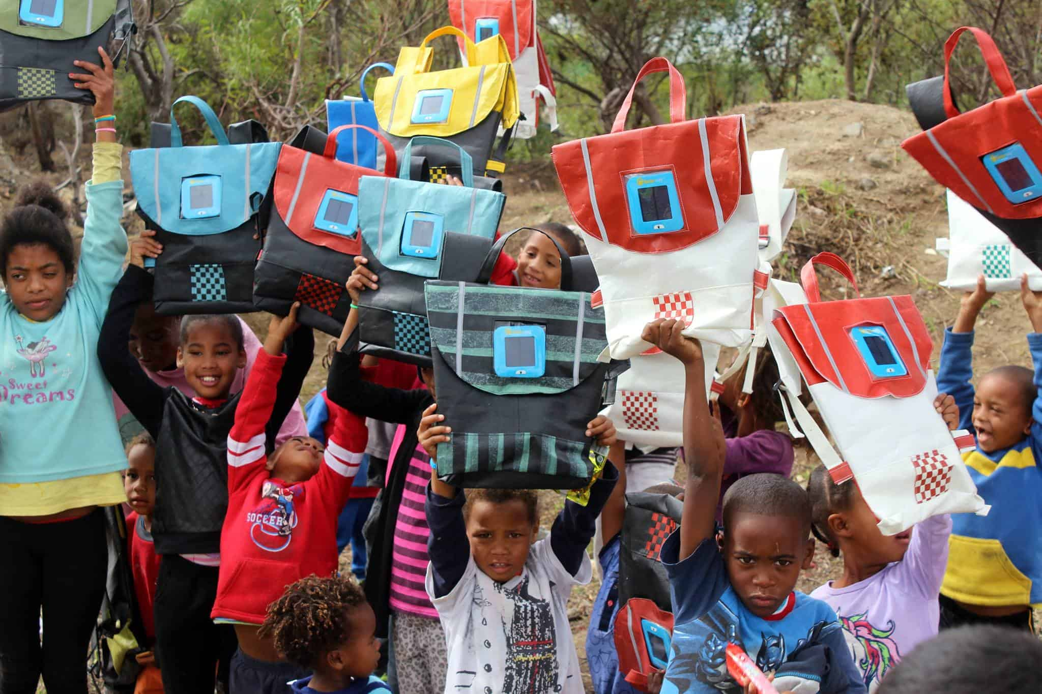 A Beacon for Learning: Repurpose School Bags