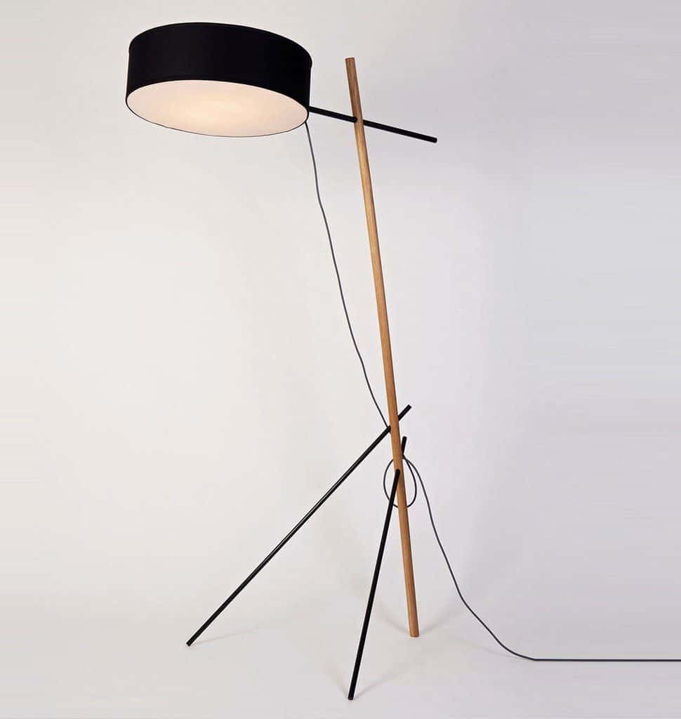Caption: The Excel Floor Lamp by Roll & Hill offers an LED alternative.